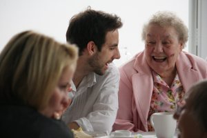 Tea, chat and friendship with Contact the Elderly