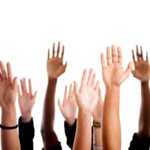 Hands up who wants to volunteer