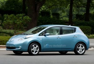 The New Nissan Leaf Electric Car will be officially unveiled in Cilgwyn on April 7th