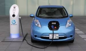 The electric car can be easily charged at home and through using renewable energy sources such as wind, hydro and solar.