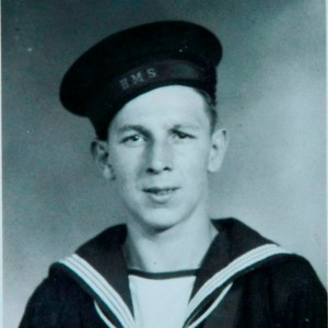 Eddie Linton from Newport joined the Royal Navy when he was 17 in 1943