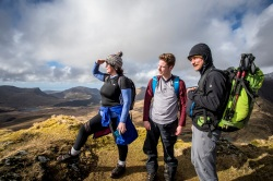 On top of the World with the Outdoor Partnership,Snowdonia